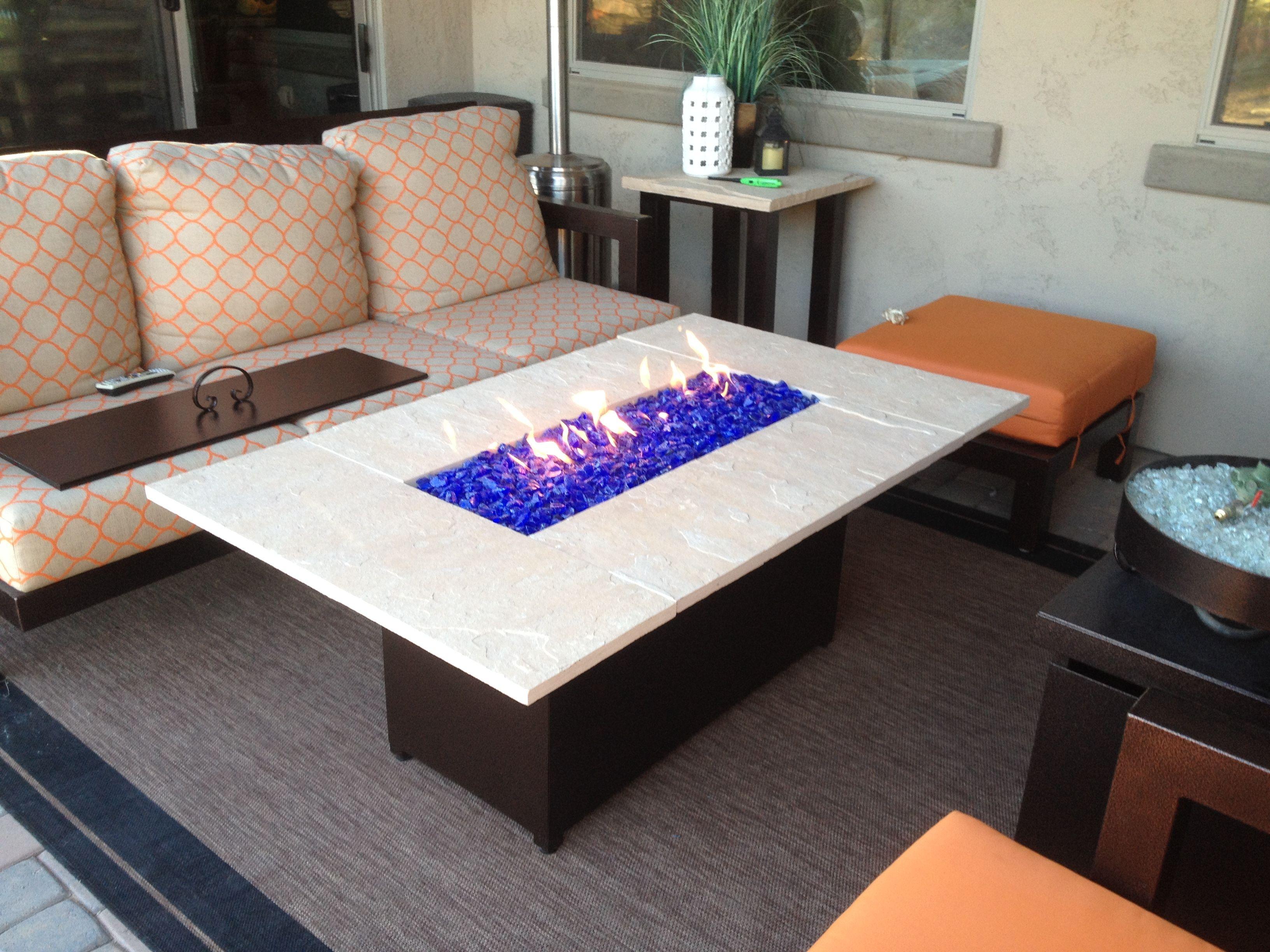 Custom Fire Pit Tables | Arizona Backyard Custom